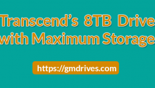 Transcend's new 8TB hard drive with Maximum Storage