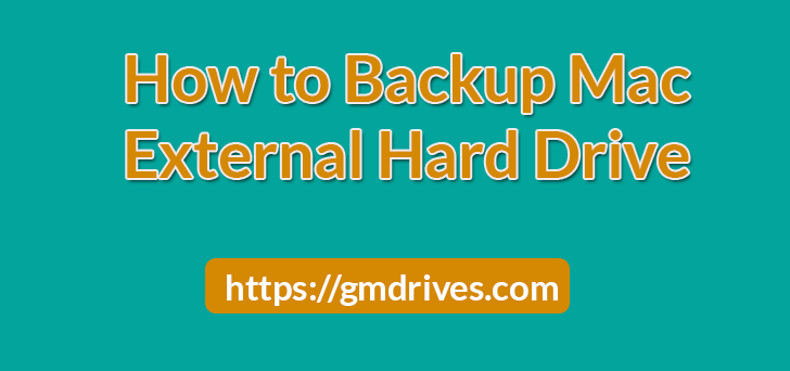 How to back up your Mac to an external hard drive
