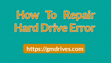 how to repair hard drive errors
