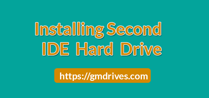 Installing a Second IDE Hard Drive