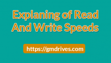 Read and Write Speeds