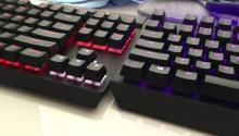 Corsair K70 LUX vs Razer Blackwidow X