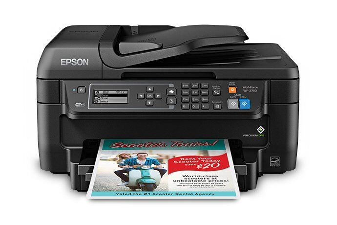 Epson Workforce WF-2750 Printer Review