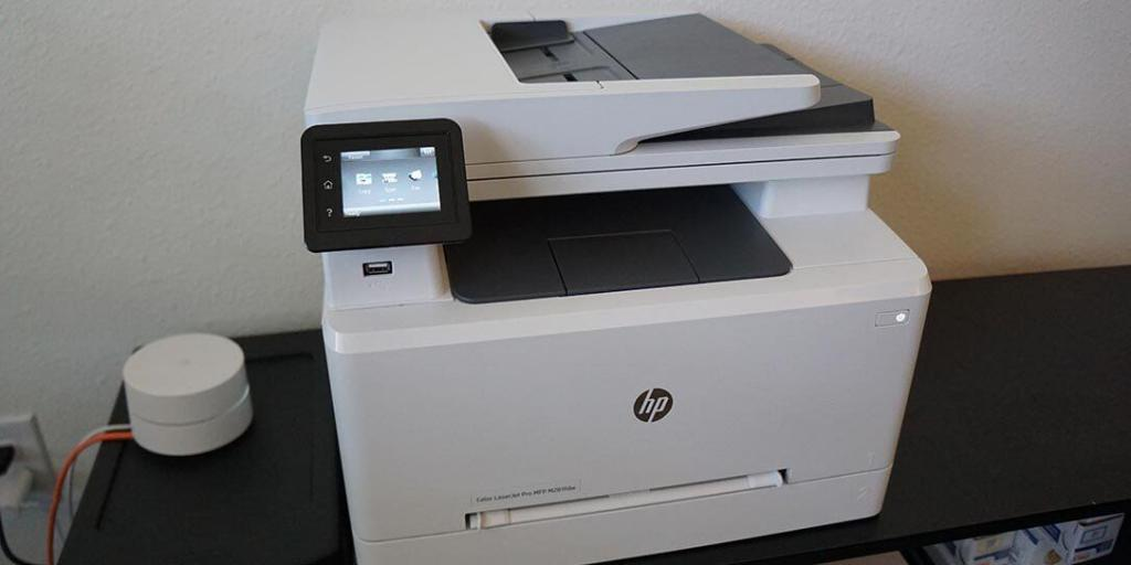 HP LaserJet Pro M281fdw Laser Printer Review