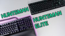 Razer Huntsman Elite vs Huntsman