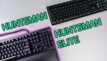 Razer Huntsman Elite vs Huntsman