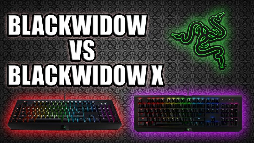 Razer Ornata Chroma VS Blackwidow Chroma VS Blackwidow X