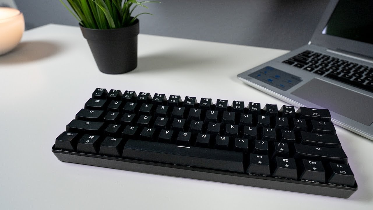 Velocifire Mini Budget 60% Wireless Mechanical Keyboard Review