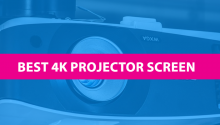 best 4k projector screen