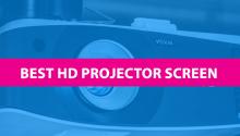 best hd projector screen