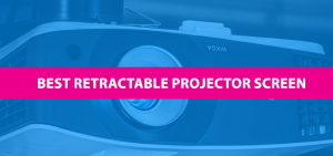 best retractable projector screen