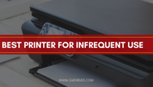 best printer for infrequent use