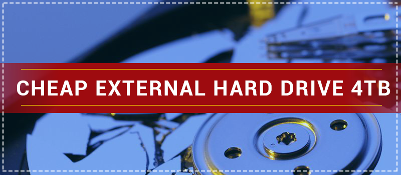 Cheap External Hard Drive 4tb