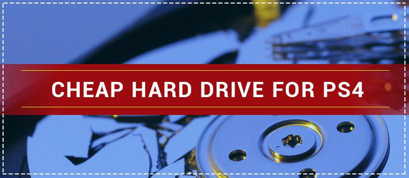 cheap external hard drive for ps4