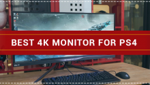 Best 4k Monitor for PS4 Pro Console Gaming