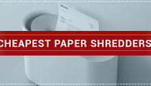 Cheapest Paper Shredders