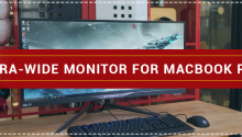 Ultra-Wide Monitor for MacBook Pro