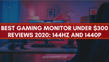 Best Gaming Monitor Under $300 Reviews 2020: 144Hz and 1440p