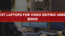 best laptop for video editing under 1000