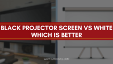 Black Projector Screen vs White Which is Better