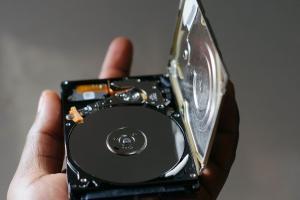 hard drive of Macbook