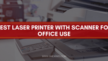 Best Laser Printer With Scanner For Office Use