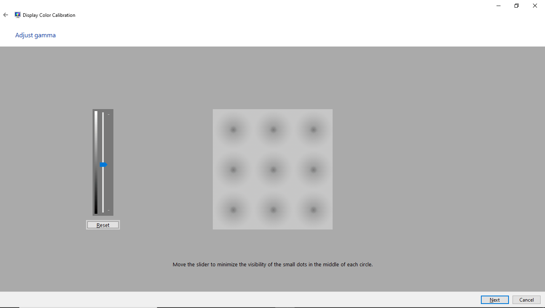 Display color calibration