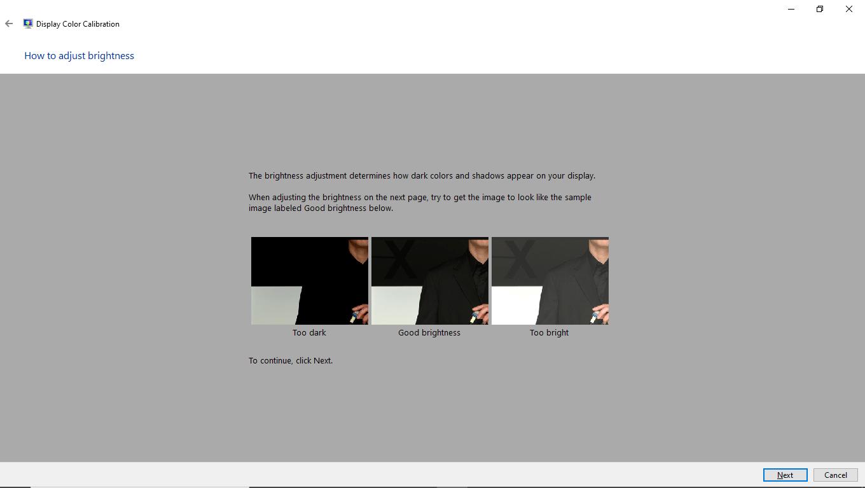 How to adjust brightness of monitor