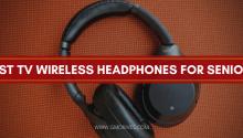 Best TV Wireless Headphones for Seniors