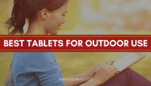 best tablets for outdoor use