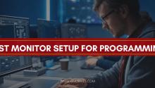 best monitor setup for programming