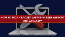 how to fix a cracked laptop screen without replacing it?