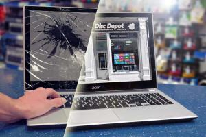 how to fix a cracked laptop screen without replacing it