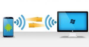 file be transferred via wireless