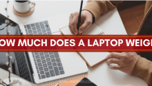 How Much Does a Laptop Weigh