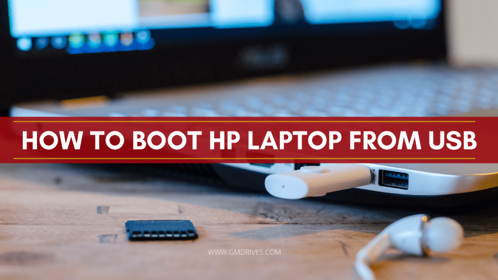 HP Boot From USB