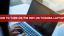 how to turn on the wifi on Toshiba laptop